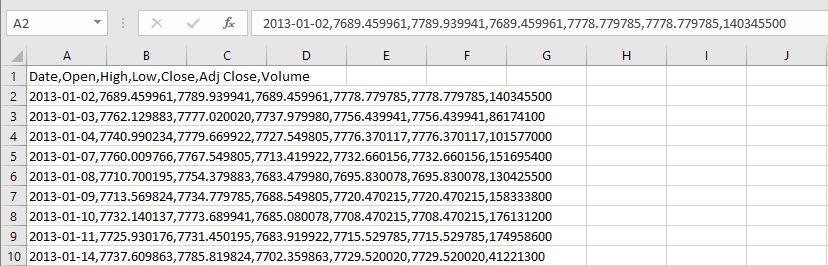 Excel Daten Import: Die CSV