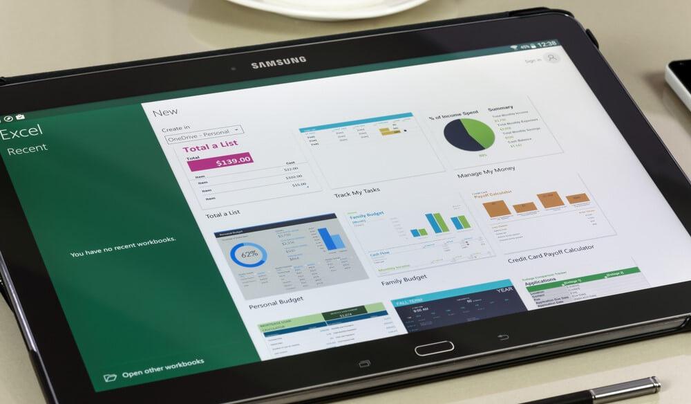 Das sind die besten Tablets für Excel