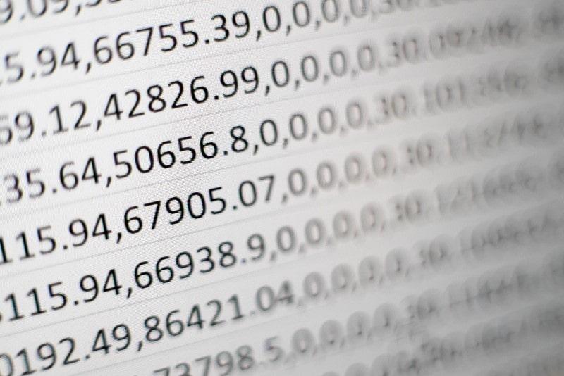Excel Dezimalstellen